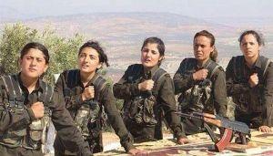 Исламисты ИГИЛ в ужасе от вооруженных женщин