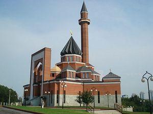 В Москве осквернили мечеть